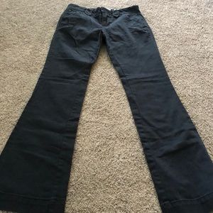 Old Navy Navy Blue Dress Pants For Girls